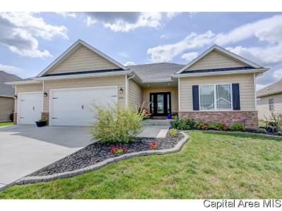 Springfield Single Family Home For Sale: 2808 Castlerock Rdg