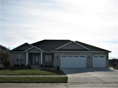 Springfield Single Family Home For Sale: 3700 Crystal Spring Dr