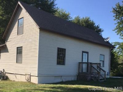 Girard Single Family Home For Sale: 32403 Pleasant Hill Rd
