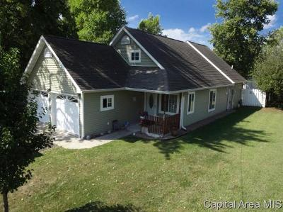 Virden Single Family Home For Sale: 385 S Bissell