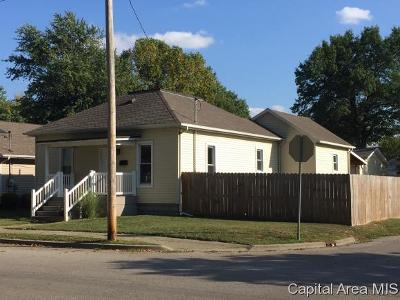 Taylorville IL Single Family Home Pending Continue to Show: $95,000