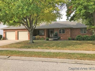 Springfield Single Family Home For Sale: 2533 Shawnee Dr