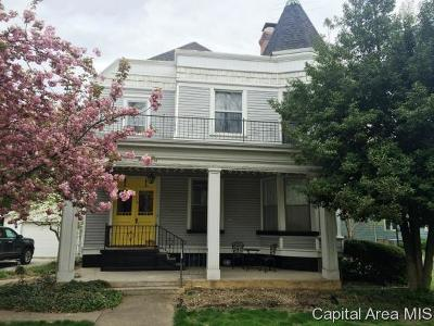 Carlinville Single Family Home For Sale: 418 E Main Street
