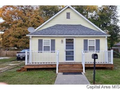 Girard Single Family Home For Sale: 318 N Harrison St