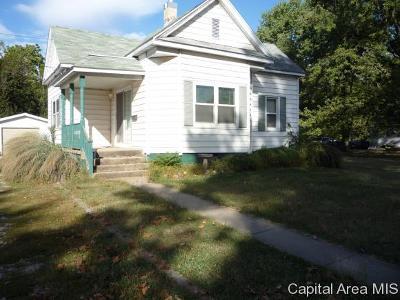 Virden Single Family Home For Sale: 969 N Springfield St