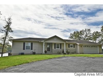 Springfield Single Family Home For Sale: 1337 E Lake Shore Dr
