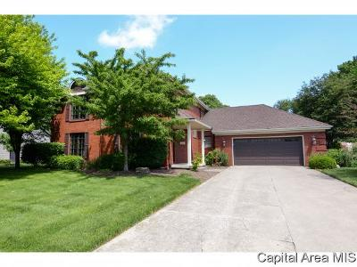 Springfield Single Family Home For Sale: 2505 Country Club Dr