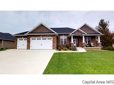Springfield Single Family Home For Sale: 2807 Castlerock Rdg