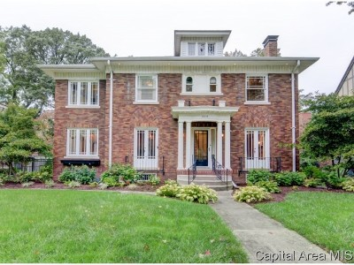 Springfield Single Family Home For Sale: 1619 Bates