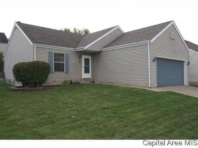 Springfield Single Family Home For Sale: 1532 Maureen