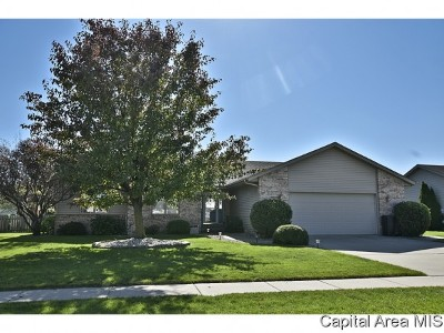 Chatham Single Family Home For Sale: 1418 Redwood Dr