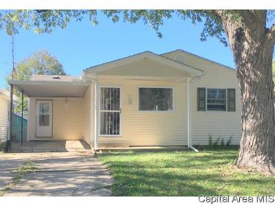Springfield Single Family Home For Sale: 3225 Mars