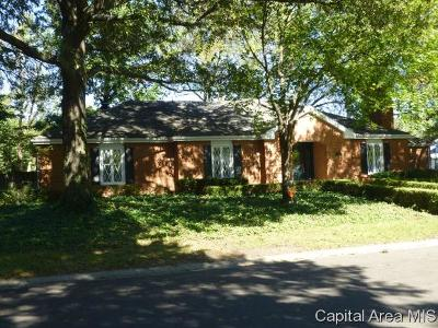 Sherman Single Family Home For Sale: 701 Trenton Dr