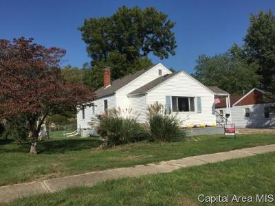 Springfield Single Family Home For Sale: 2205 E Reservoir St