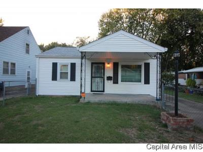 Springfield Single Family Home For Sale: 317 N Wesley St