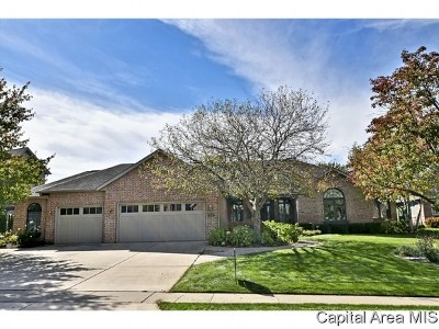 Springfield Single Family Home For Sale: 4309 Turtle Bay