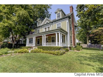 Springfield Single Family Home For Sale: 1001 Williams Blvd