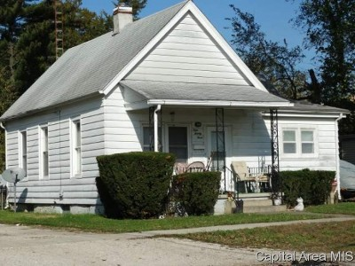 Springfield Single Family Home For Sale: 923 W Calhoun St