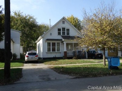 Springfield Single Family Home For Sale: 815 N 8th St