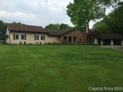 Springfield Single Family Home For Sale: 487 N Koke Mill Rd