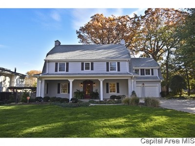Springfield Single Family Home For Sale: 1120 Orendorff Pkwy
