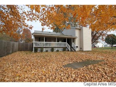 Virden Single Family Home For Sale: 531 E Waverly St