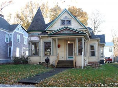 Springfield Single Family Home For Sale: 545 S State St