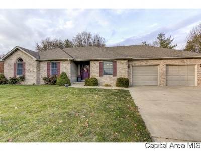 Chatham Single Family Home For Sale: 2403 Hampton Dr