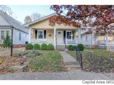 Springfield Single Family Home For Sale: 1336 S Glenwood Ave