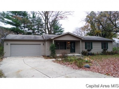 Springfield Single Family Home For Sale: 237 Circle Dr