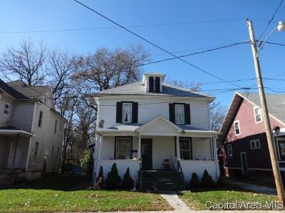 Jacksonville IL Multi Family Home For Sale: $55,000