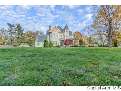 Springfield Single Family Home For Sale: 2844 E Lake Shore Dr