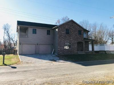 Taylorville IL Single Family Home For Sale: $199,500