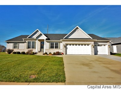 Springfield Single Family Home For Sale: 1401 Lake Pointe Ct