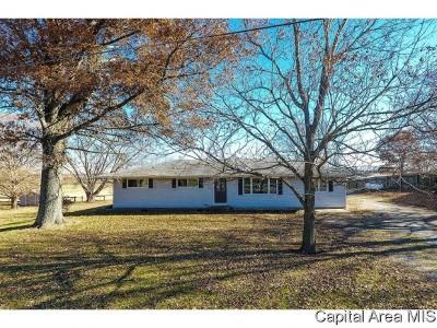 Pleasant Plains Single Family Home Pending Continue to Show: 2326 N Farmingdale Rd