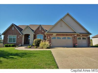 Springfield Single Family Home For Sale: 5409 Gentry Rdg