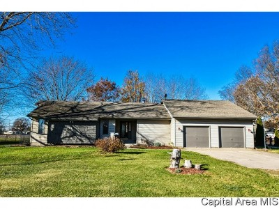 Virden Single Family Home For Sale: 309 Melody Ln
