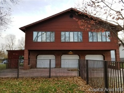 Carlinville Single Family Home For Sale: 100 E Cherry Street