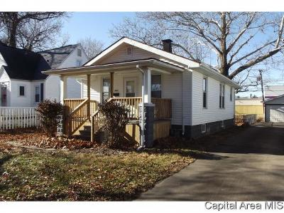 Springfield Single Family Home For Sale: 2721 S State St