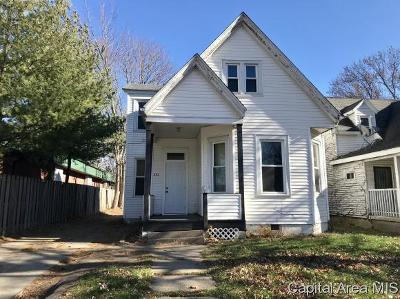 Springfield Single Family Home For Sale: 222 N Macarthur Blvd