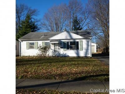 Springfield Single Family Home For Sale: 1613 N 21st