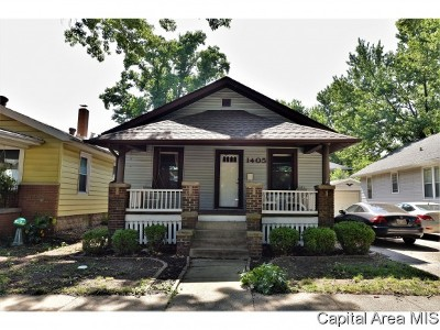 Springfield Single Family Home For Sale: 1405 S Walnut St