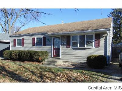 Springfield Single Family Home For Sale: 1628 N Schrader Ave