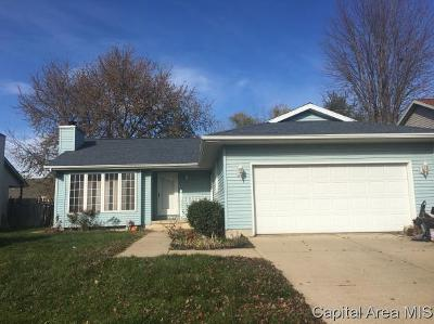 Springfield Single Family Home For Sale: 2621 Steiler Place
