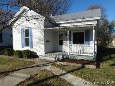 Jacksonville Single Family Home For Sale: 228 E Michigan Ave