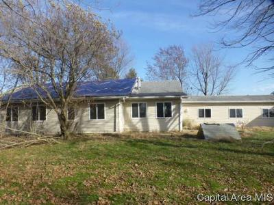 Taylorville Single Family Home For Sale: 868 N 1200 East Road
