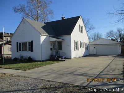 Springfield Single Family Home For Sale: 1512 E Keys