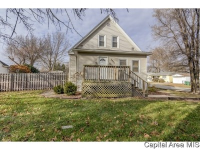 Springfield Single Family Home For Sale: 2933 S Park Ave