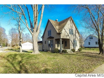 Chatham Single Family Home For Sale: 413 W Spruce