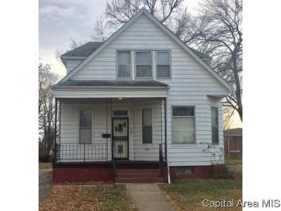 Springfield Single Family Home For Sale: 414 W Reynolds St
